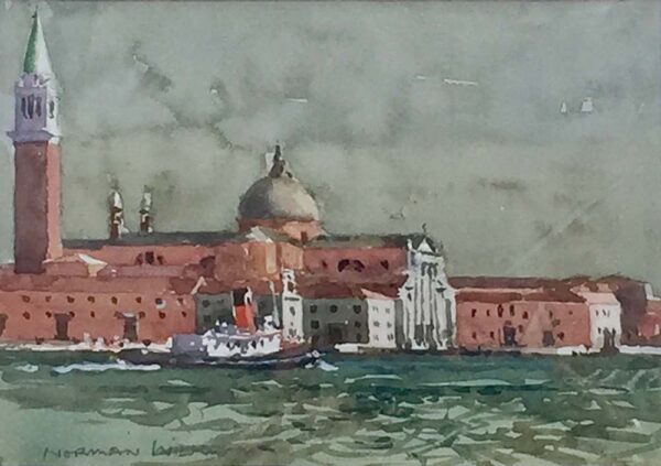 Norman Wilkinson Venice watercolour