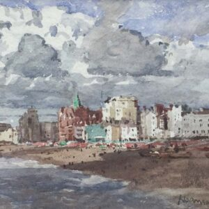Norman Wilkinson Brighton Seafront watercolour