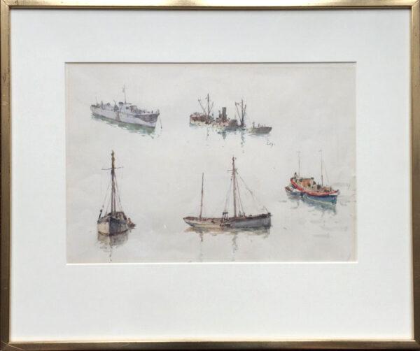 Arthur Briscoe Marine Artist Sketch Book