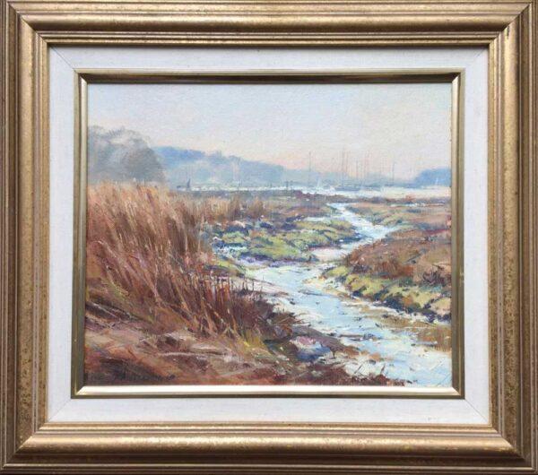 Barry Peckham ROI Artist Beaulieu River
