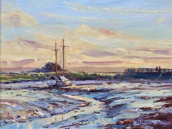 Barry Peckham Artist Salterns Lymington River