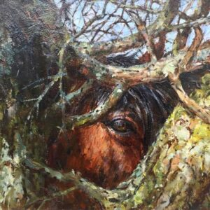 Barry Peckham ROI Artist The Thorn Tree