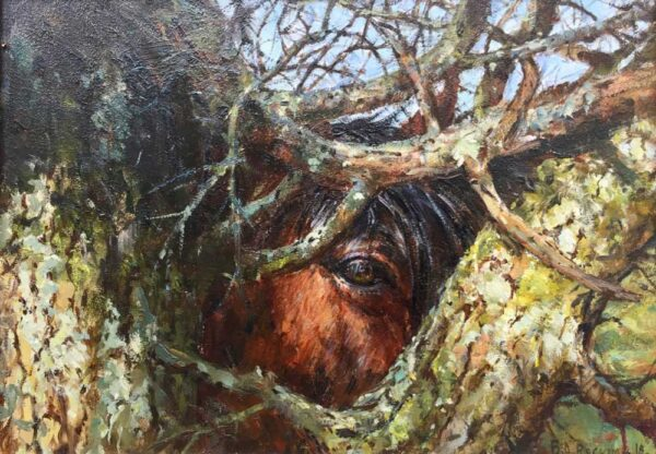 Barry Peckham ROI Artist The Thorn Tree