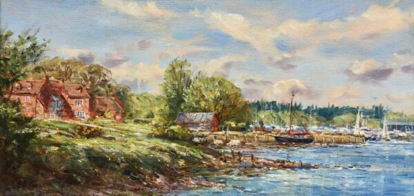Barry Peckham Bucklers Hard Beaulieu River