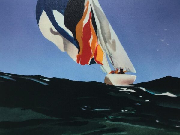Donald Hamilton Fraser Spinnaker Losing Breeze Silkscreen