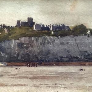 Norman Wilkinson Dover Castle Watercolour