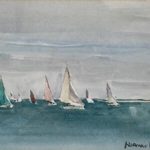 Norman Wilkinson Yachting in the Solent