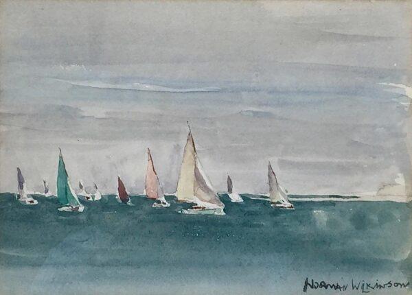 Norman Wilkinson Yachting in the Solent