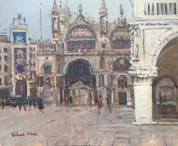 Richard Price ROI Venice Oil Painting