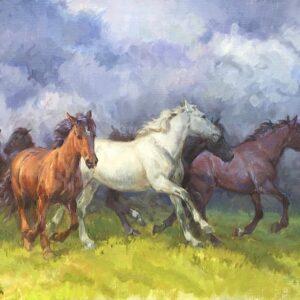 Rosemary Sarah Welch Artist Horses