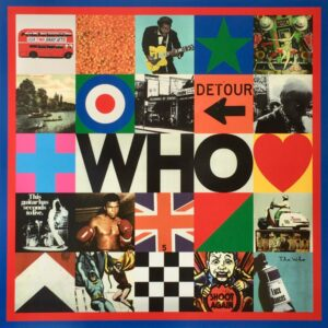 Sir Peter Blake The Who Silkscreen Print