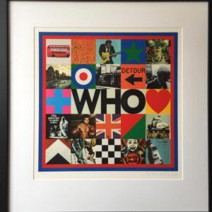 Sir Peter Blake The Who Silkscreen Print