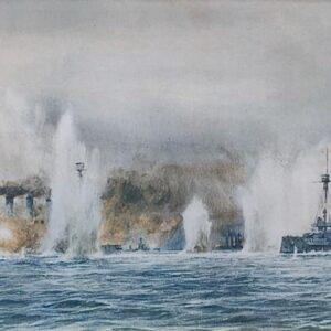 William Lionel Wyllie Battle of Jutland print