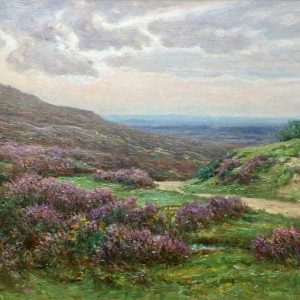 Frederick Golden Short New Forest Heather oil painting for sale