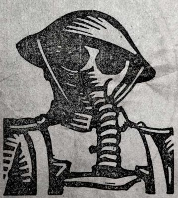 William Kermode Grosvenor School Artist Linocut WW1 Print Robert Perera Fine Art